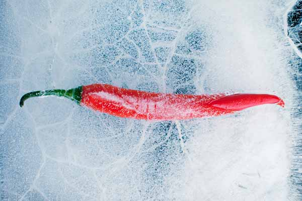 Frozen Chile Capsicum Chili Pepper