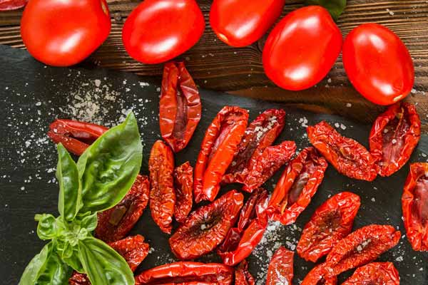 Italian herb infused California sun dried tomatoes