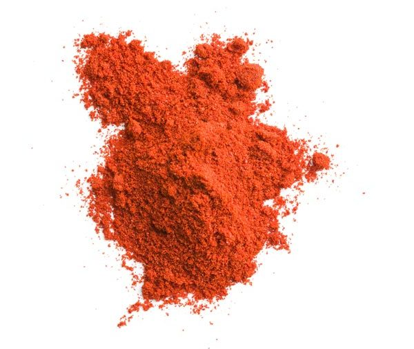 ground capsicum chili powder from chile peppers spicy spice seasoning ingredient