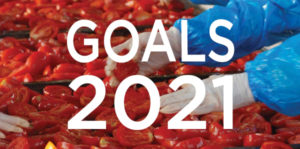 Culinary Farms' Goals for 2021