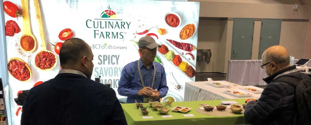 Culinary Farms exhibits at many conference trade shows.