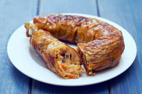 plant-based meatless sausage