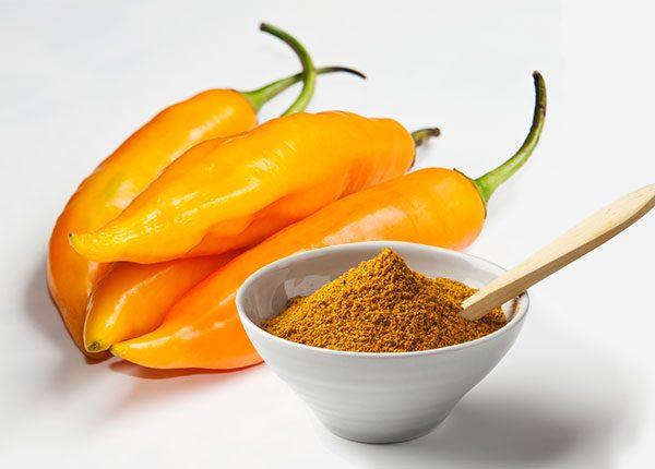 Aji Amarillo Peruvian chile chili and powder