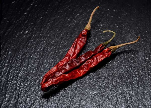 Mexican Chile de Arbol dried chili pepper