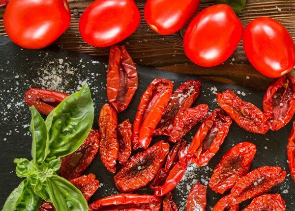 roma sun dried tomatoes basil