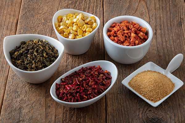 craft smoked dehydrated vegetables and powders