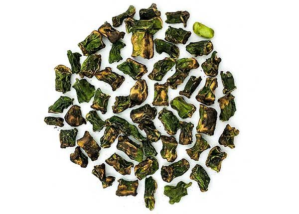 fire roasted dehydrated dried green beans