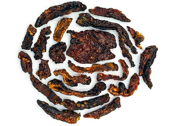 fire roasted organic dried tomatoes